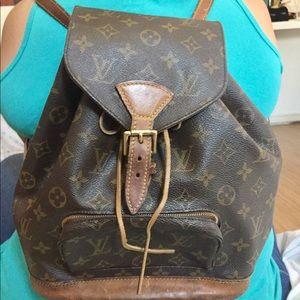 Authentic Louis Vuitton Backpack SP1020
